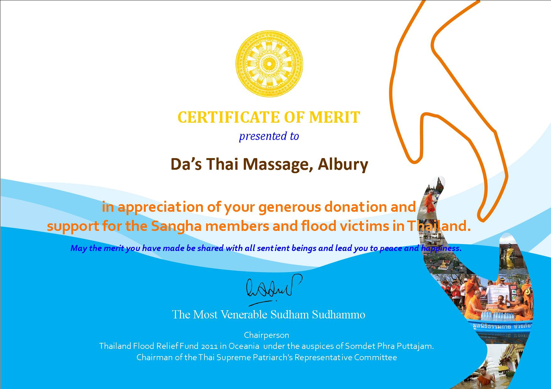 Fundraising For Flood Victims In Thailand Dhammakaya Meditation