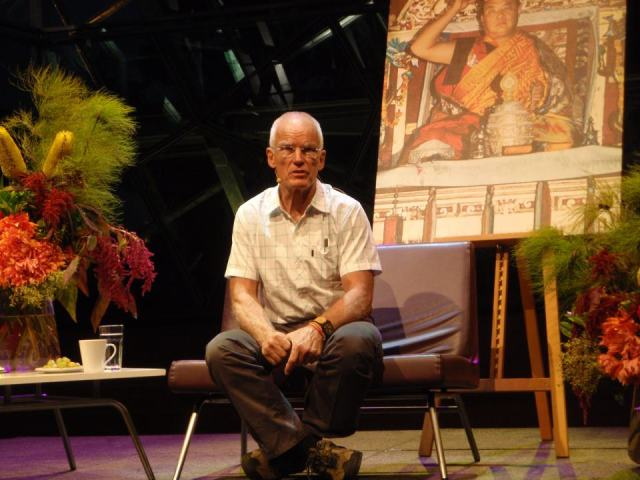 Lama Ole Nydahl at BMW Edge Federation Square 20 March 2012