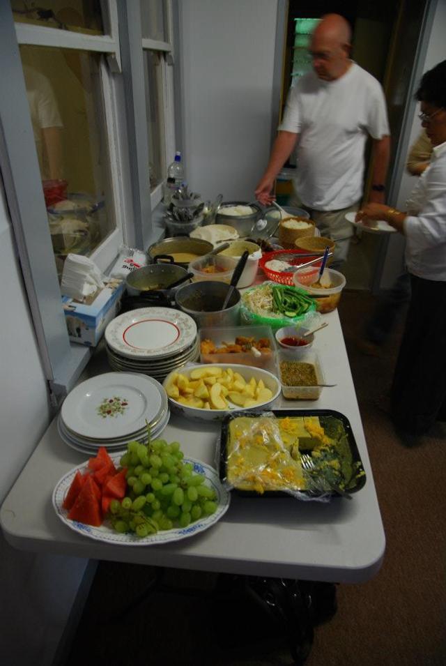 Thai buffet lunch