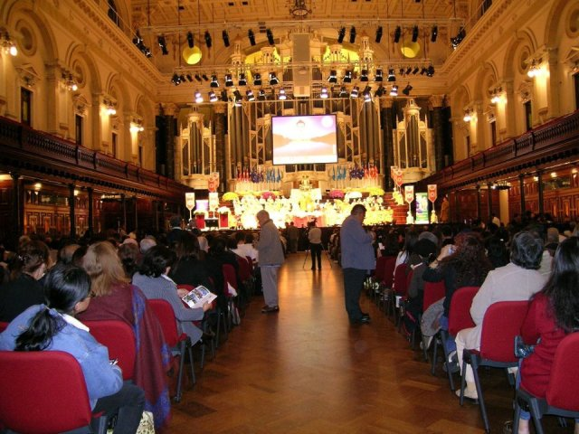 The Australian Observance of the United Nations Day of Vesak 2007, Sydney Town Hall