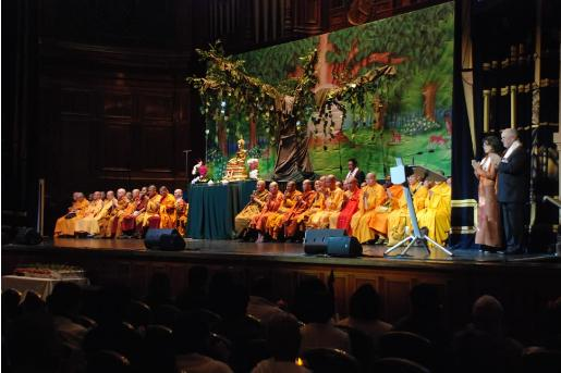 United Nations Day of Vesak Victoria 2011, Melbourne Town Hall
